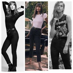 RE/DONE ultra high rise skinny sold out BNWT